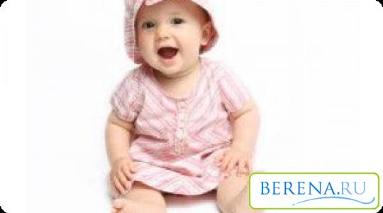 Начинаем сажать ребенка девочку 366