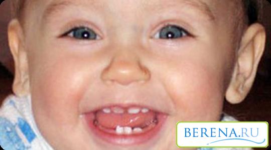 когда и какие прорезаются зубы у детей