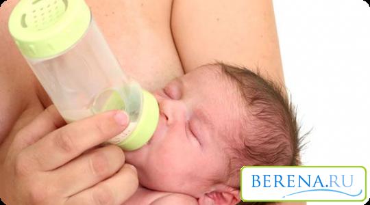 Вода новорожденному