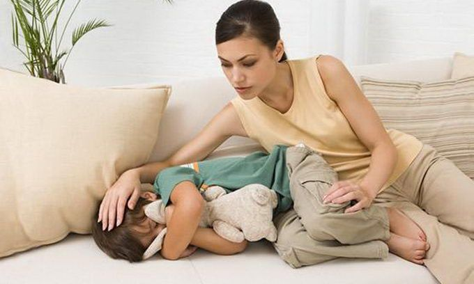 Озноб температура у ребенка