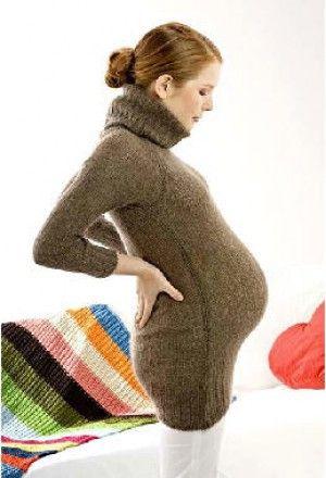 Болей в спине при беременности